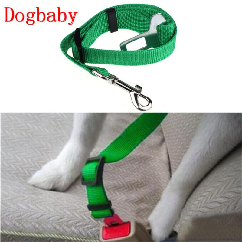 Dog Collar Safety Seat Belt Small Pet Dog Nylon Leash Harness Lead  Lead Strap Belt 2017 Fashion pet supplies acessorios