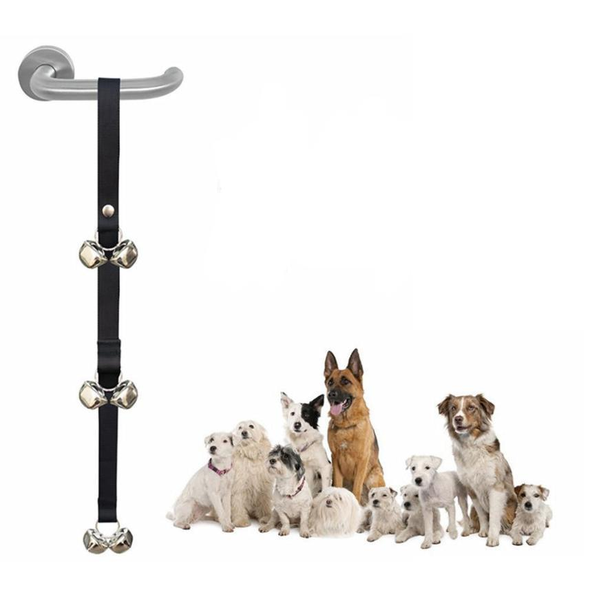 Dog Doorbells For Dog Training And Housebreaking Clicker Door Bell shopify Drop shipping6.28/35%