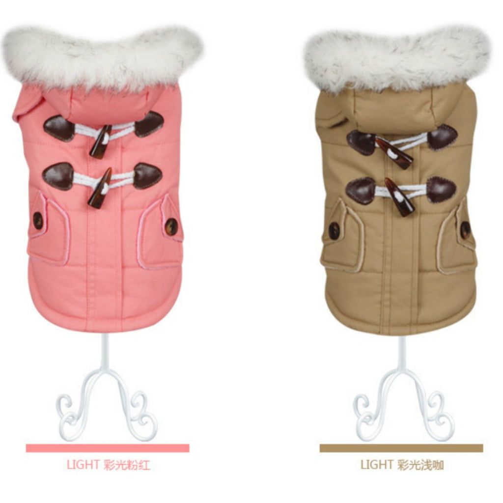 Dog Down Parka Coats Jackets Winter French Bulldog Clothes Waterproof for Chihuahua Small Large Dogs Warm Clothing Hondenkleding