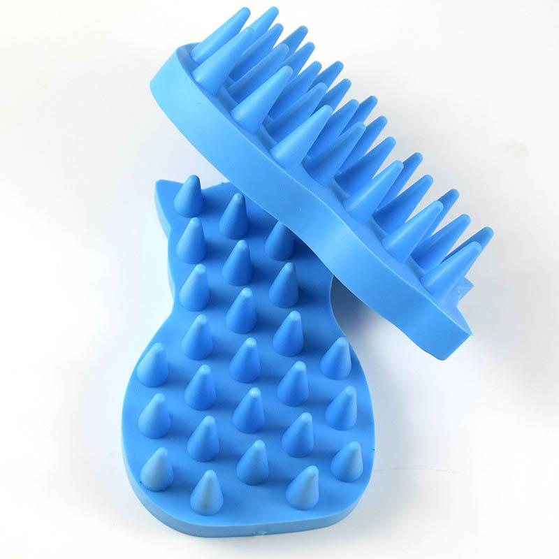 Dog Grooming Pet Hair Brush Comfortable Puppy Dog Grooming Brush Washing Cleaning Bath Comb Dog Products Massage Shower 20