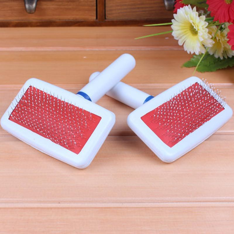 Dog Grooming Puppy Dog  Cat Comb Shedding Tool Brush Comb Rake Pet Fur Grooming Quick Clean Short Hair Pet Grooming