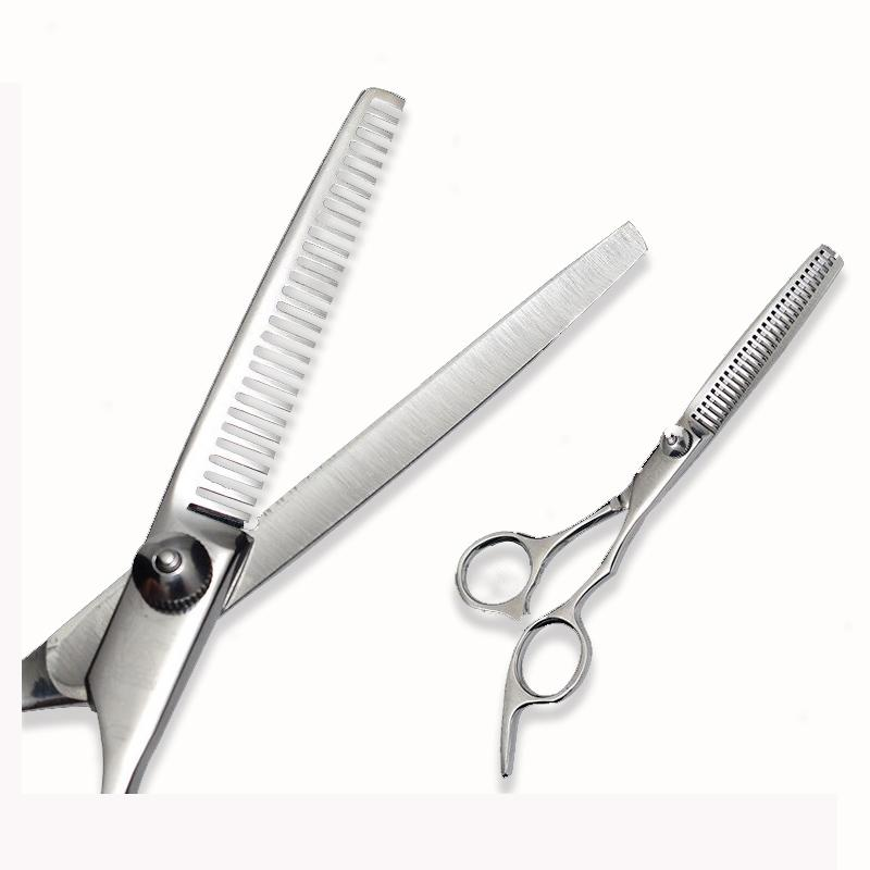 Dog Grooming Scissors Pet Dog Cat Professional Stainless Steel Grooming Hair Thinning Scissors Toothed Blade Shears