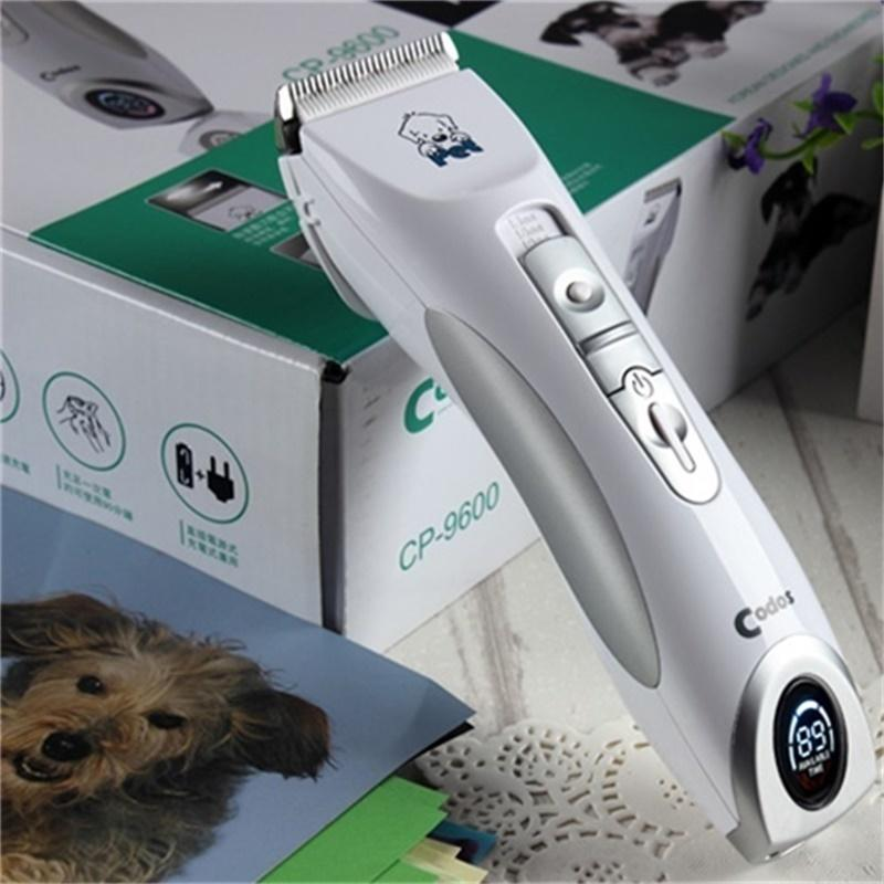 Dog Hair Clipper Machine Pet  Dog Cat Hair Trimmer Grooming Rechargeable Shaver Dog Clipper For Animals CP-9600 Codos110-240V AC
