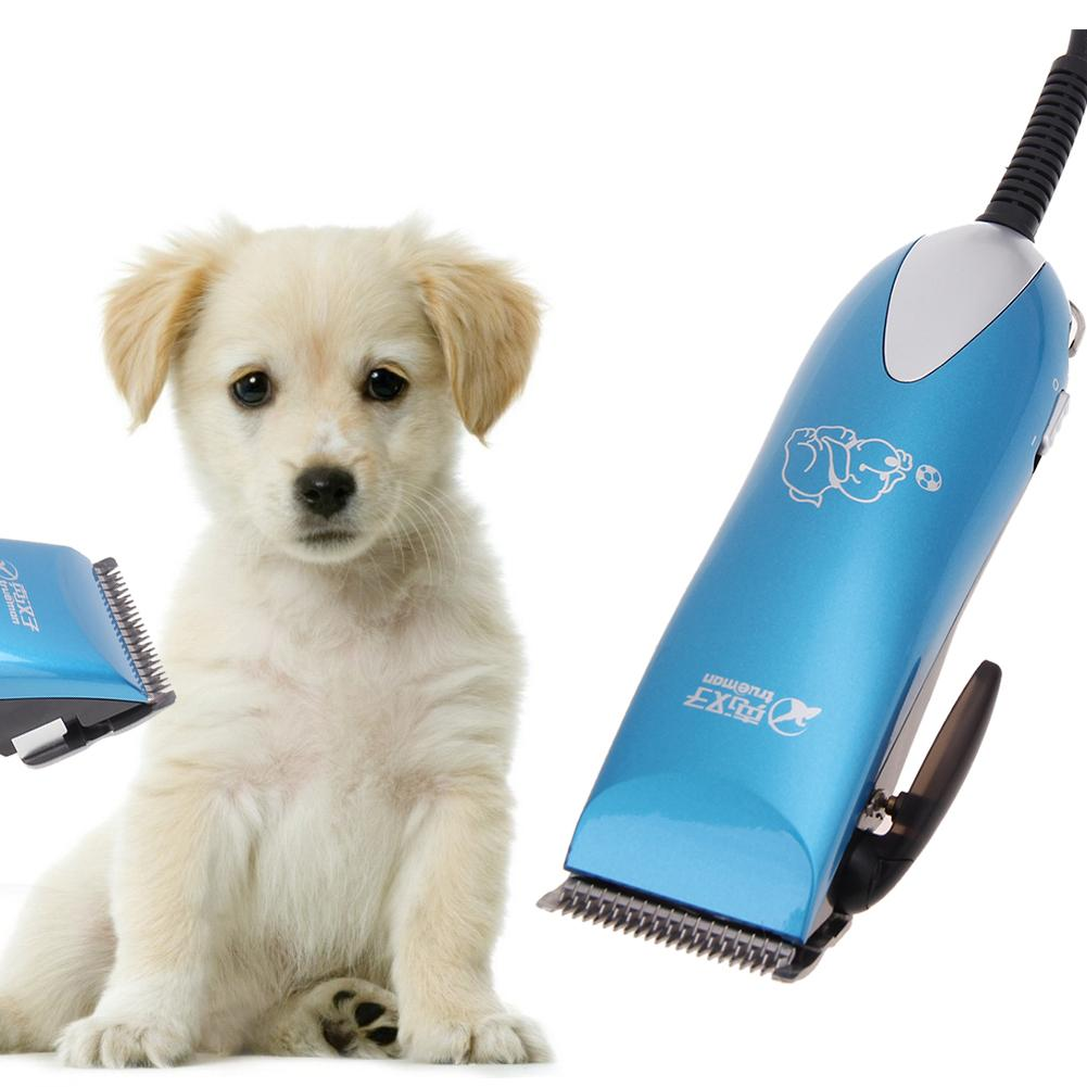 Dog Hair Trimmer Rechargeable Pet Cat Electric Hair Clipper Grooming Shaver Set Dogs Haircut Machine pet products E5M1