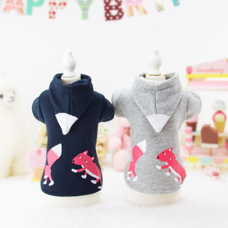 Dog Hoodies Pet Clothes For Dogs Animal Print Dog Clothes Spring And Autumn Jacket Cat Clothing Yorkies Teddy Sport Coat