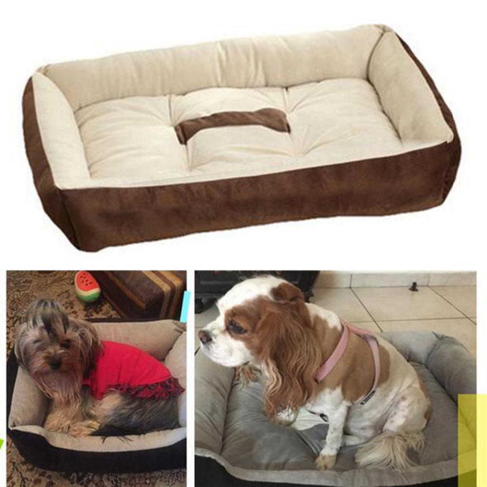 Dog House Bed Mat Kennel Soft Pet Dog Puppy Warm Bed House Plush Cozy Nest Dog House Pad Warm Pet House