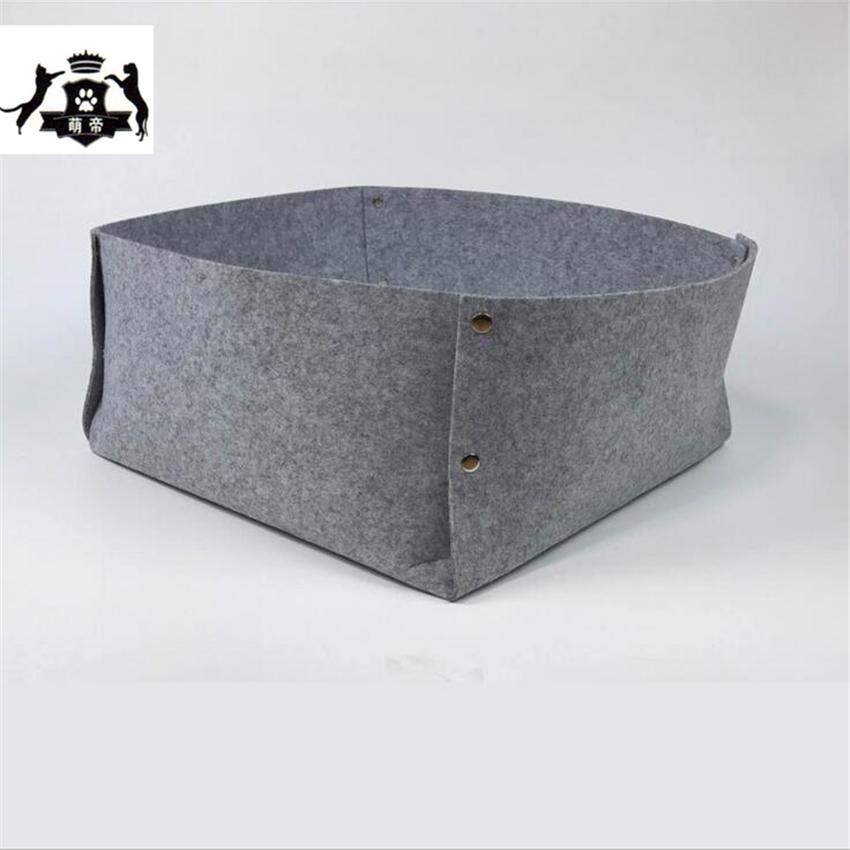 Dog House For Cats Pet Bed Detachable Felt cat beds pet cama gato cat bed soft dog beds for large dogs panier chat gatos pet