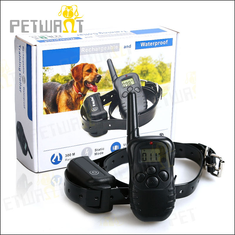 Dog Training Collar 250M Automatic Rechargeable Waterproof In-Ground Shock Collar  Pet Dog Electric Fence