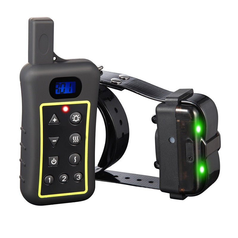 Dog Training Collar-Dog Remote Training Collar 1200 Meter Range dog barking collar with vibrating and beeper