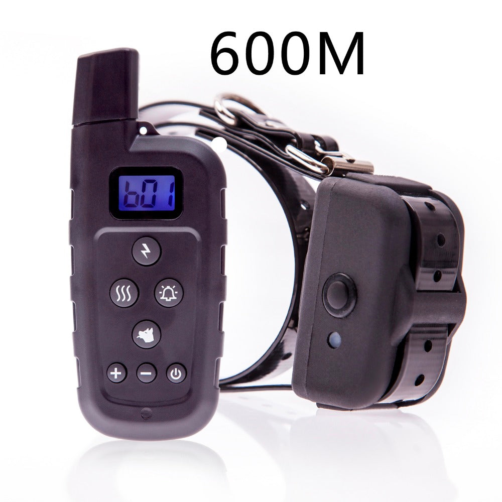 Dog Training Collar - Rechargeable Dog Shock Collar w/ 3 Training Modes, Beep, Vibration and Shock, Waterproof Training Collar