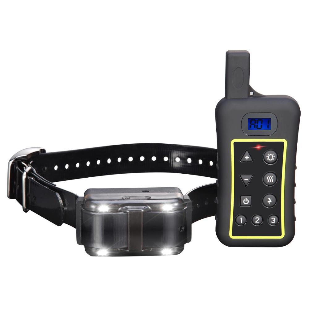 Dog Training Collar - Rechargeable Dog Shock Collar with Beep, Vibration and Shock,100% Waterproof Training Collar