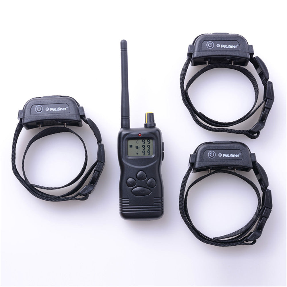 Dog Training Collar Rechargeable and Waterproof Remote 1000m Dog Shock Collars, Vibrate & Electric Shock Collar Good Seller
