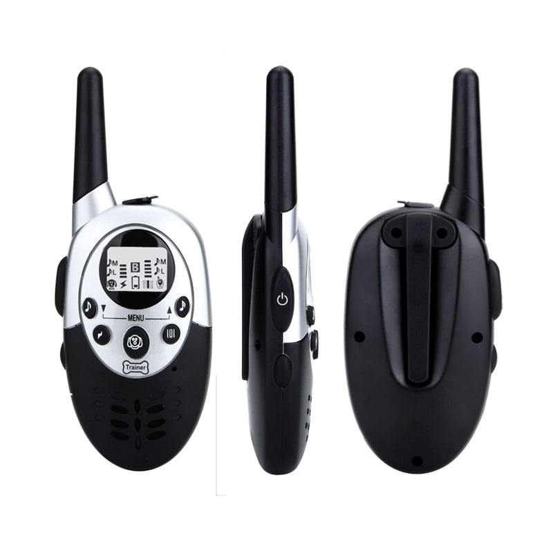 Dog training collar 1000 yards waterproof&Rechargeable with LCD display shock collar remote control barking collar for 1 dog