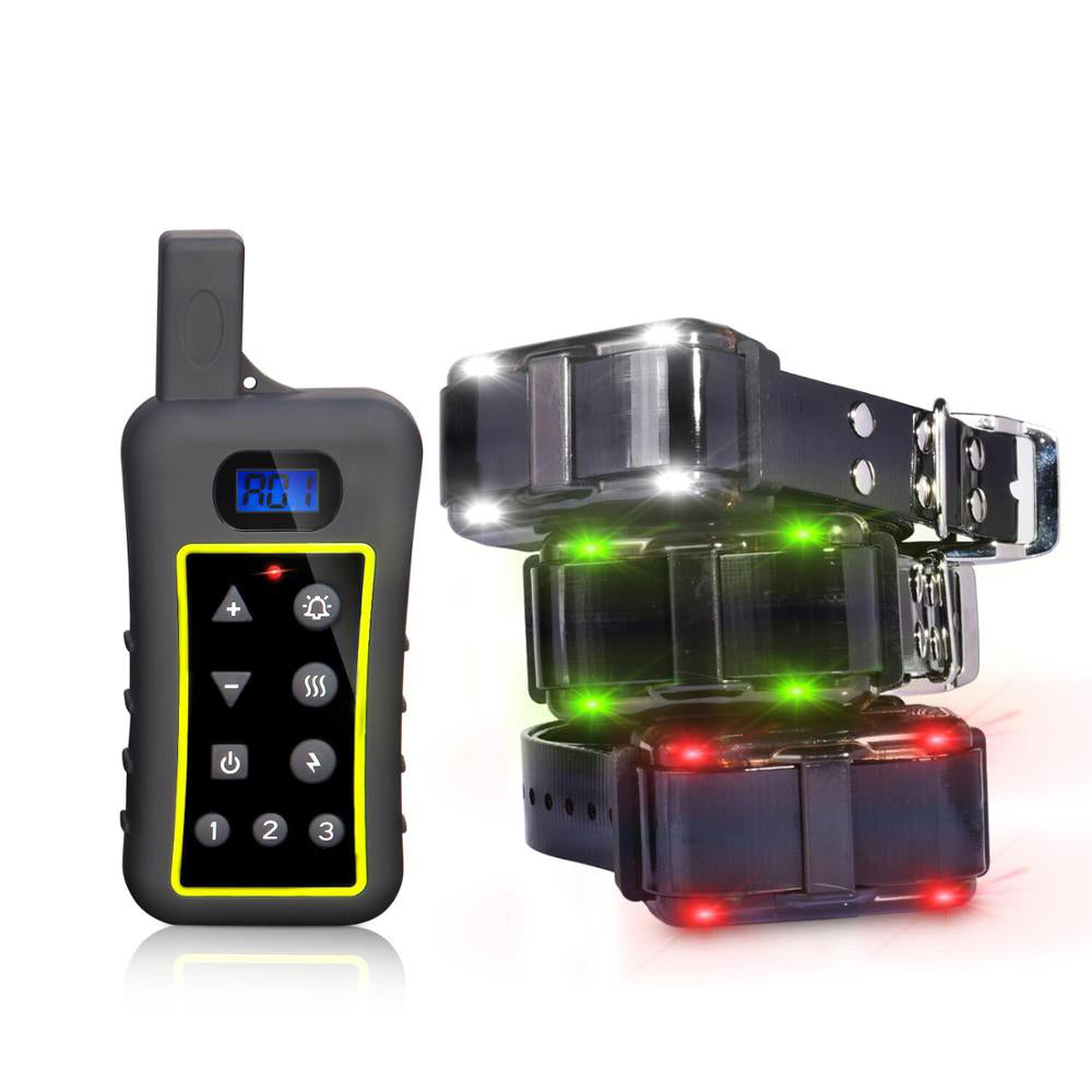 Electric Dog Training Shock No Barking Collar Beep / Vibration / Safe Shock / Sensitivity Control Rechargeable Anti Bark Collar