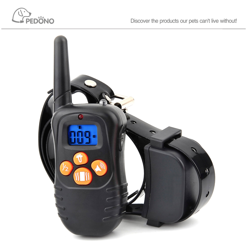 Electric anti bark no bark collar dog control pet training device vibrating electronic dog control collars