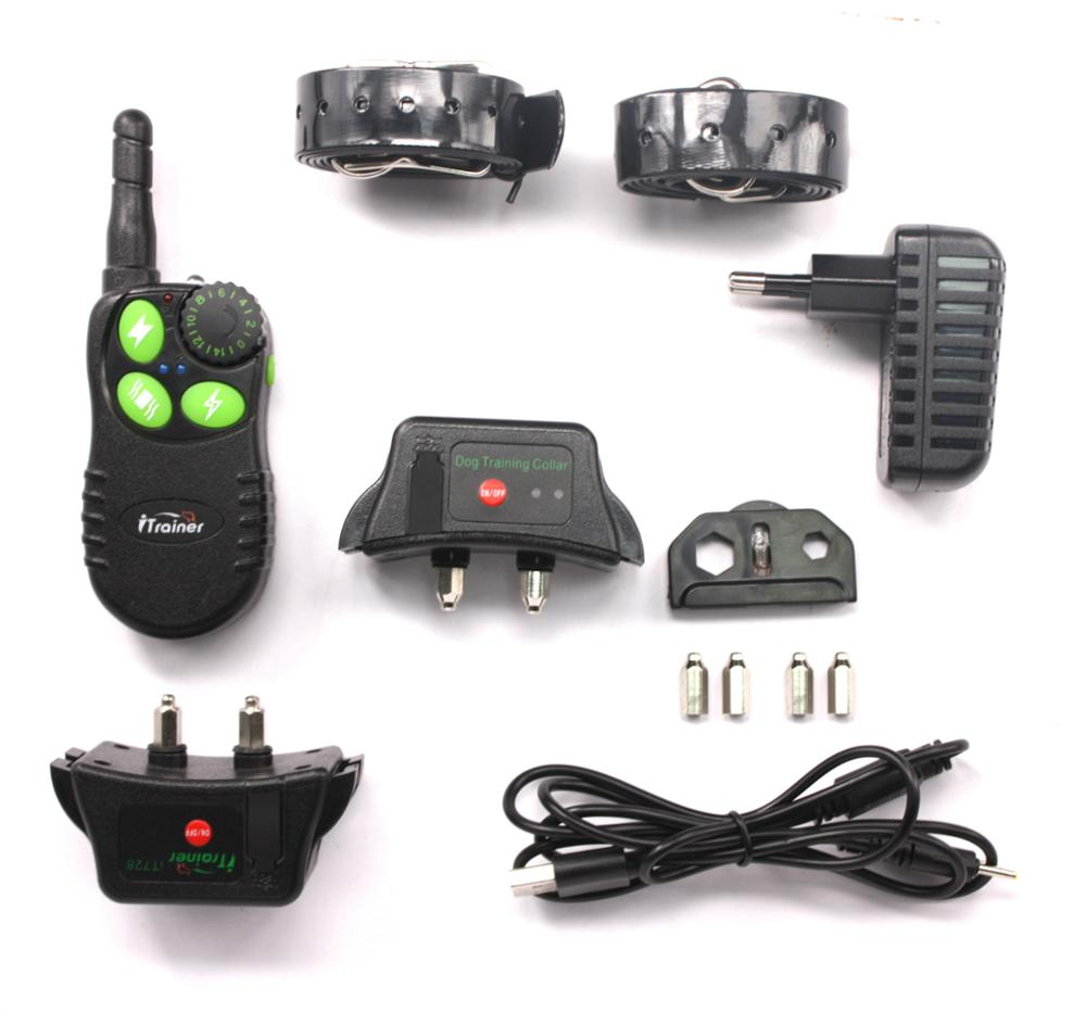 Europe and the United States iT828 electronic remote dog training charging waterproof one for two direct manufacturers