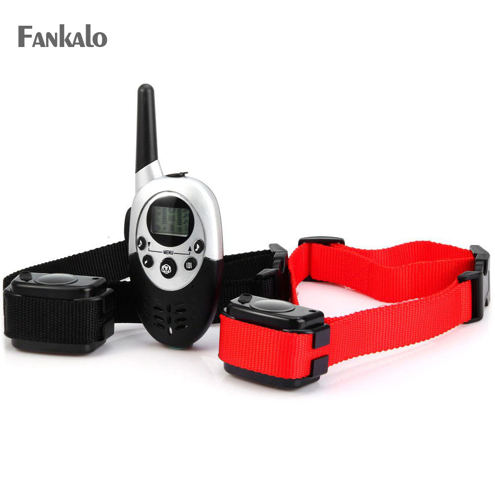 Fankalo Dog Collar Electric dog training collar 2 Large Dogs 300m Training Collar with Remote Training products Bark Dog Collar