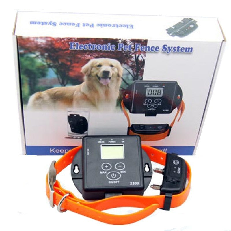 For one dog wireless Electronic dog Training fence Pet fencing system waterproof with Built-in Lighting Protection