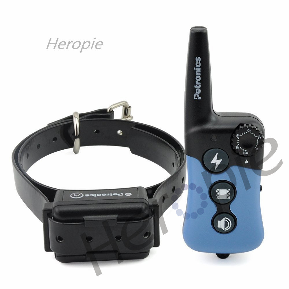 Heropie 300m Electric Dog Training Collar Remote Training Collar Large Dog Training Collars Bark Dog Collar For 1 Or 2 Dogs