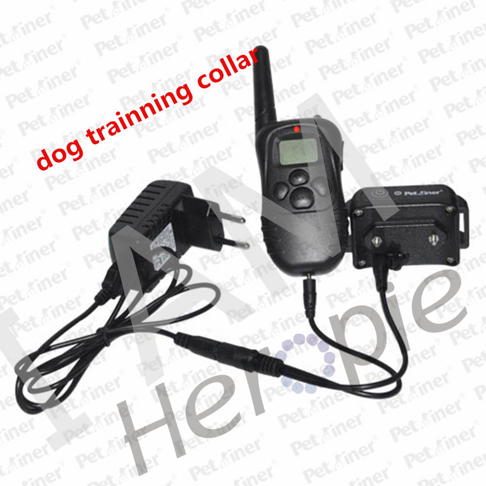 Heropie 300m Pet Trainer Dog Electric Shock Vibrate Training Collar Remote Trainer For 2 Dogs Free Shipping