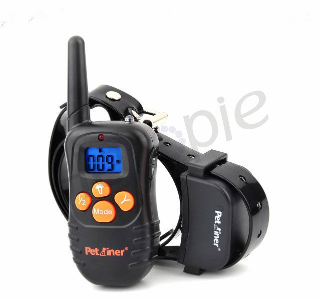 Heropie Waterproof Dog Training Collar Remote Control Anti Bark with Rechargeable Pet Trainer Electric Dog Collar \