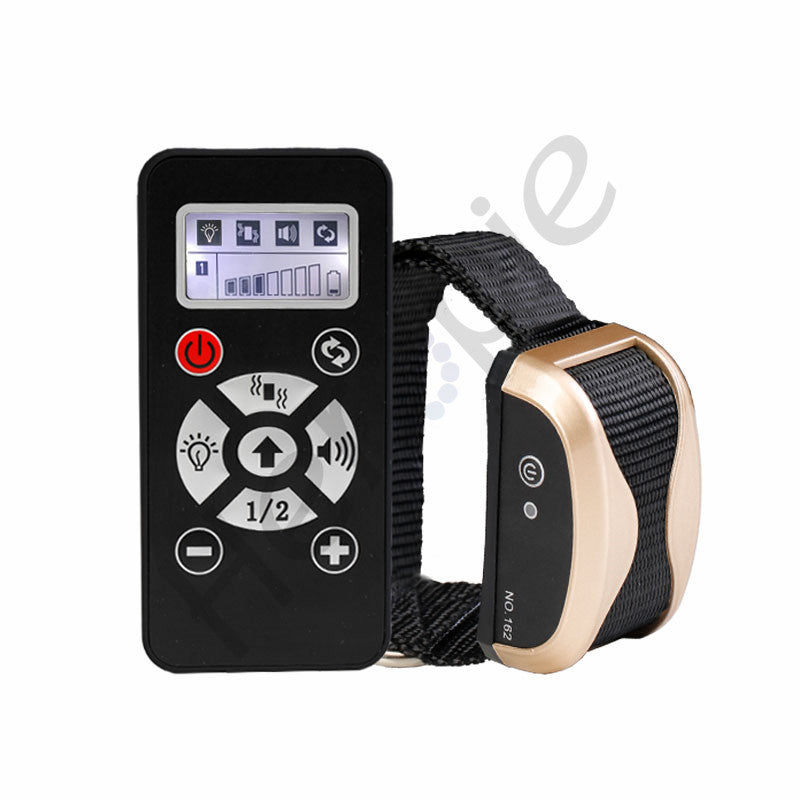 Heropie waterproof  800m remote Dog Training Shock Collar with Beep Vibration automatic mode remote training collar