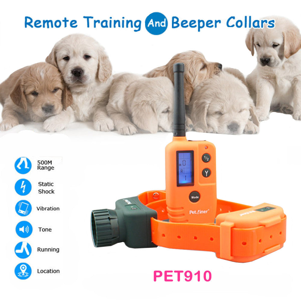 Hunting Dog Collar Beeper Dog Training Collar Waterproof for Small Medium Large Dogs