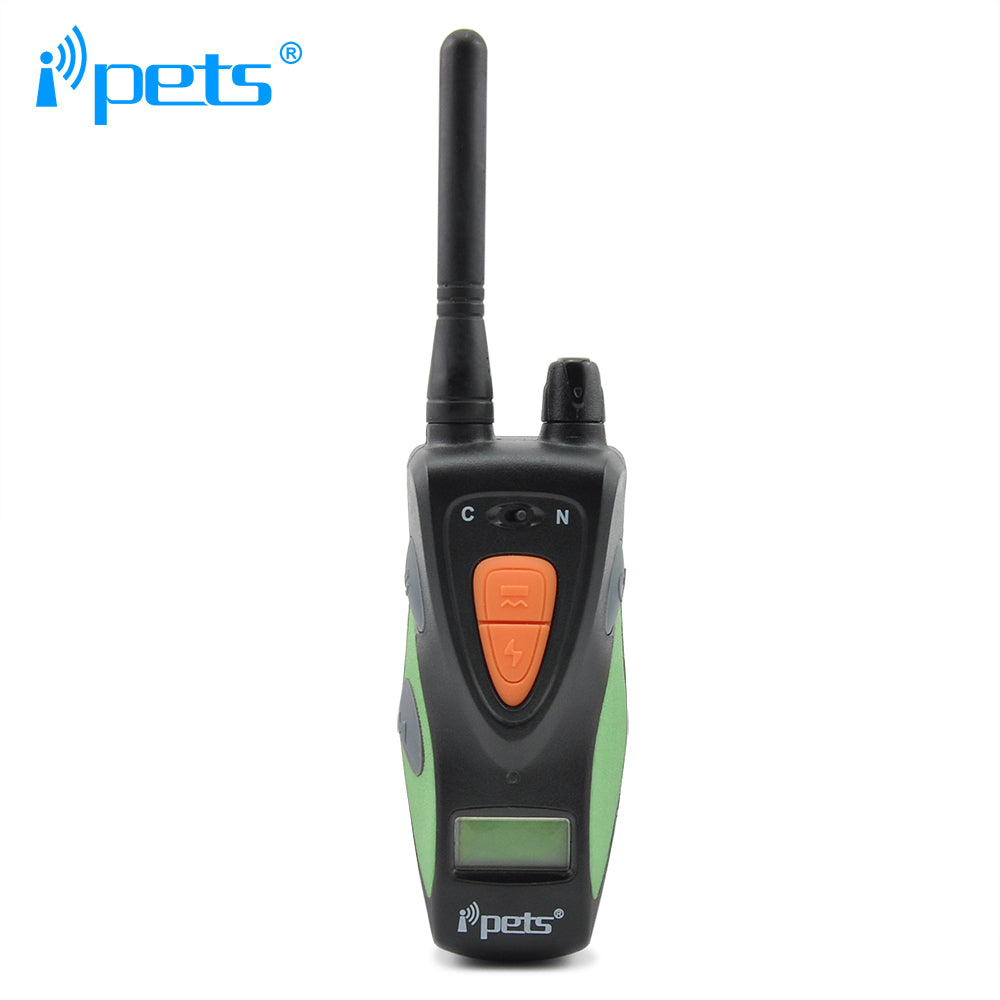 Ipets 617-1  800M Newest Rechargeable and Waterproof Dog Electronic Shock Training Collar with LCD display