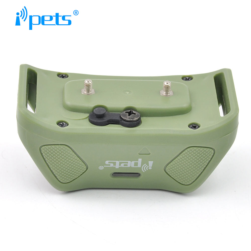 Ipets 618-1 New Electric shock remote training collar Free shipping dog accessories Waterproof and rechargeable