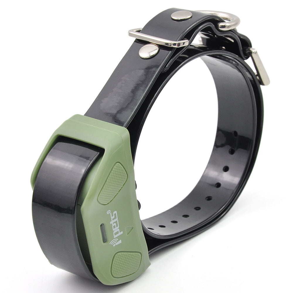 Ipets 618-1 Rechargeable and waterproof dog bark collar /training collar/shock collar  with 800 range