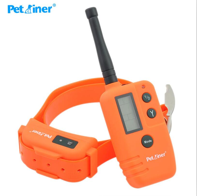 Ipets 910 Pet Dog Hunter and Beeper Collar, 500M Range Remote with Big LCD Display dog shock training collar