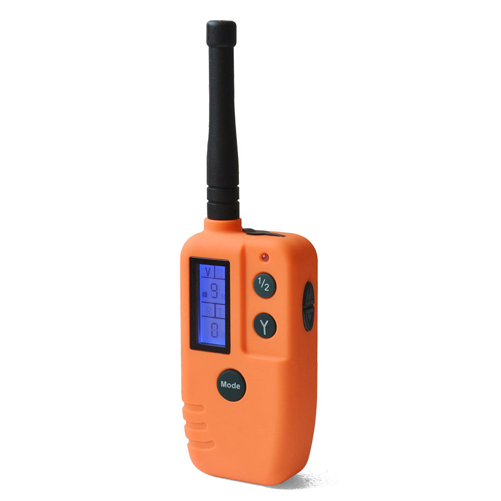 Ipets 910B 500M remote control Rechargeable and Waterproof Beeper training Collar with Big LCD display