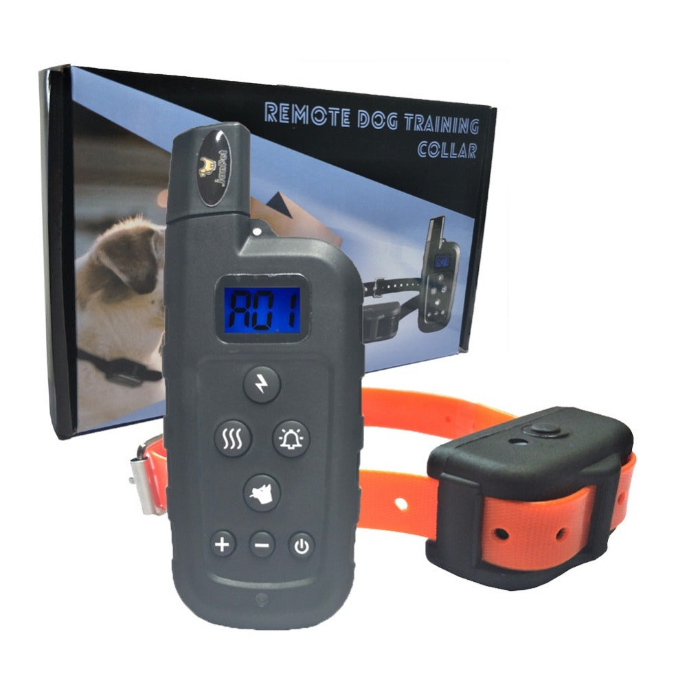 JANPET 600Yds Remote Pet Training Collar Waterproof Rechargeable Electronic Dog Collars with 10 levels shock/Vibration/beep