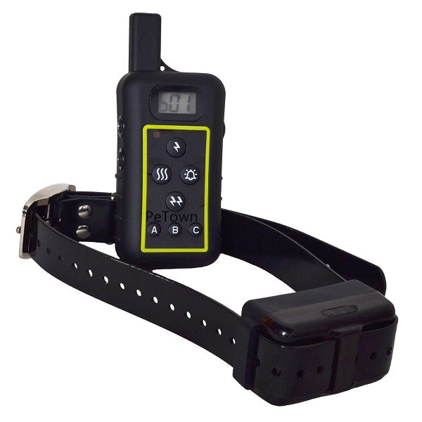 JANPET Dog ID function Highlight Led 2000m Remote Dog Training Collars with Rechargeable Waterproof Receiver Collar
