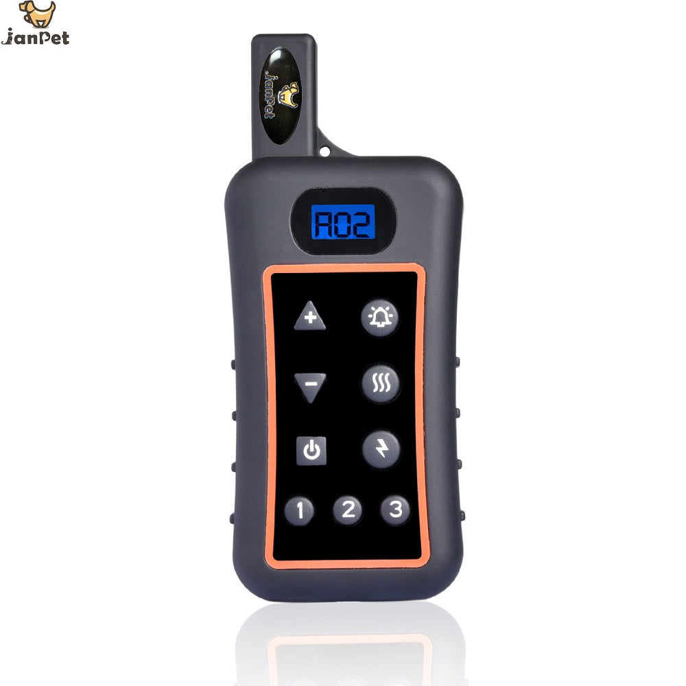 JANPET Rechargeable Waterproof Dog Electronic Shock Training Collar 1200M Remote Pet Dog Training Collar