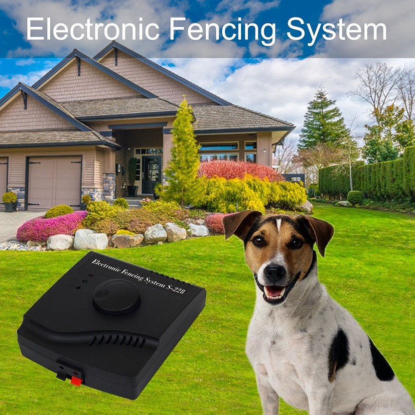 JANPET Underground Dog Fences Wired Pet Containment System with Rechargeable Waterproof Dog Fence Training Collar