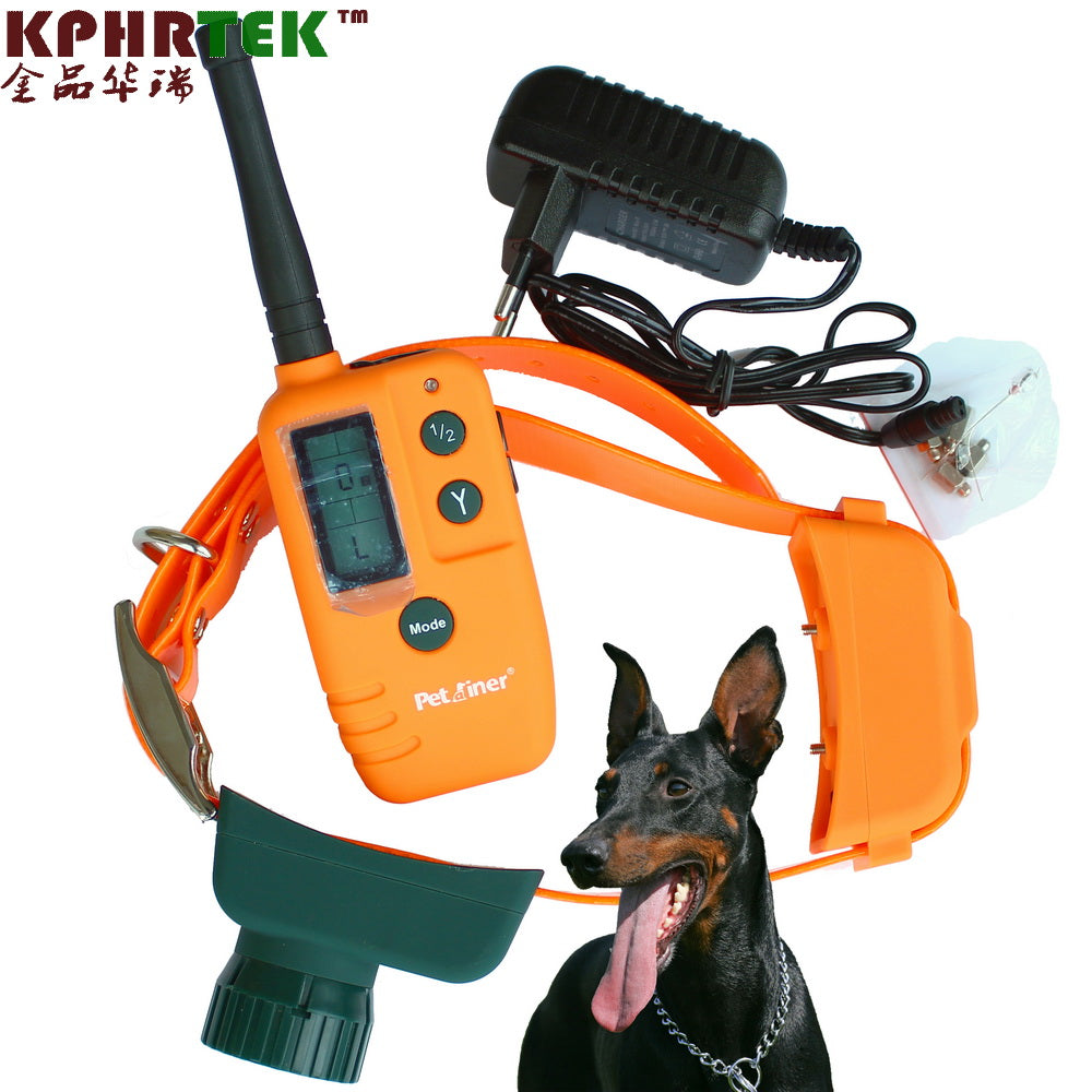 LCD Dog Remote Vibrating Training Collar and Beeper dog Shock Collar 30set/lot