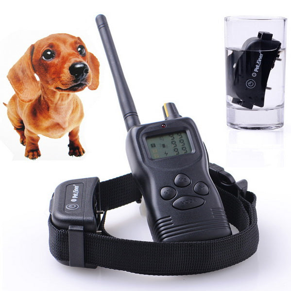 Medium/Large Bark Control Dog Training Shock Collar Waterproof and Rechargeable For 1 Dogs