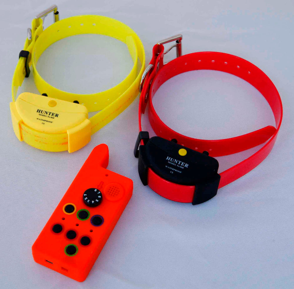NEW MODEL WATERPROOF DOG TRAINING COLLAR FOR  TWO  DOGS