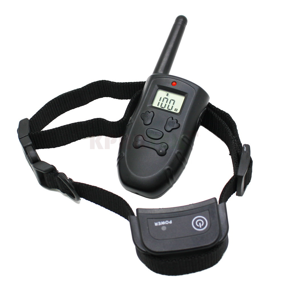 NEW Shock+Vibrate Remote Dog Training Collar With Rechargeable and Waterproof for 1 dogs 6pc/lot