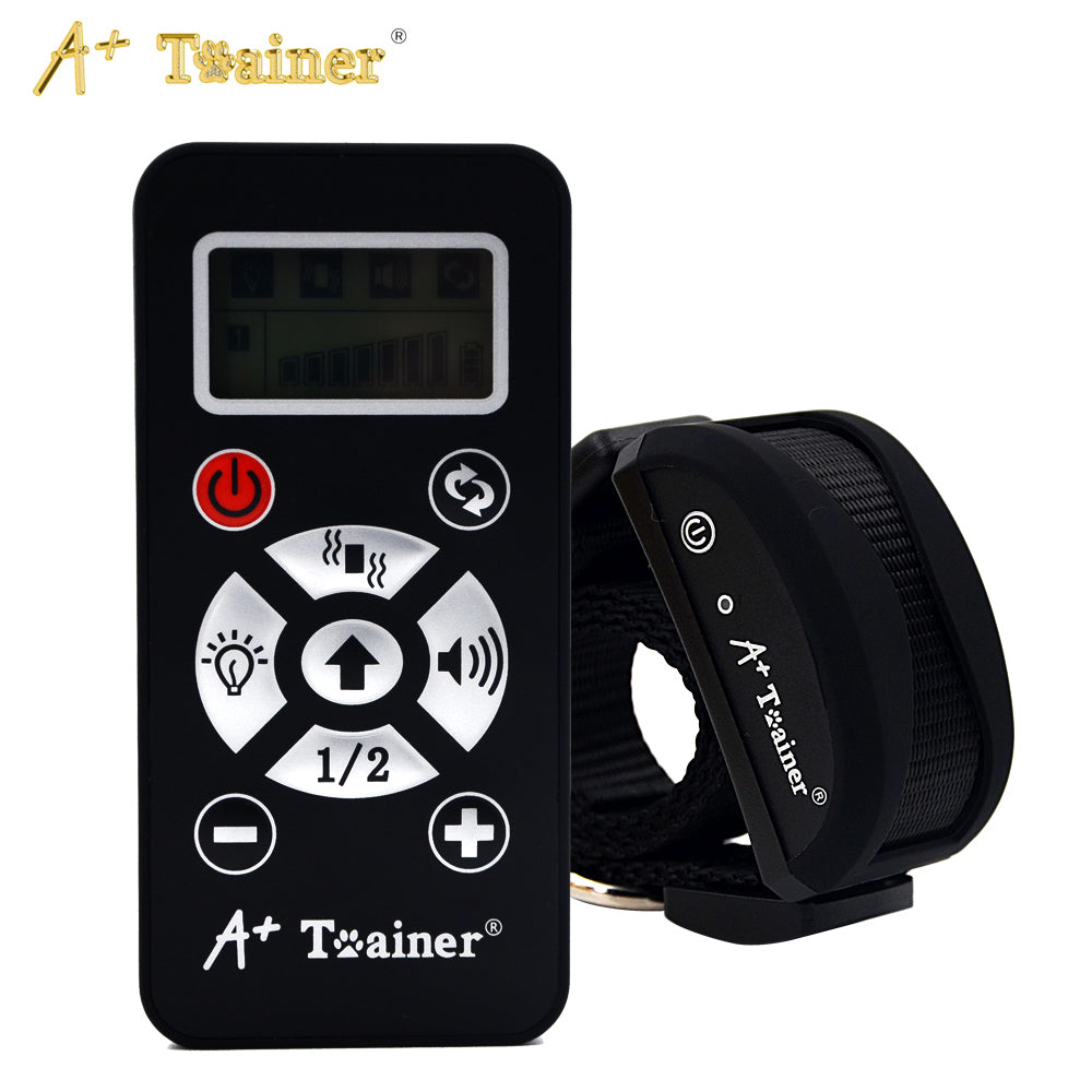 New 2 in 1 Remote 800M Dog Training Collars Vibration Sound Automatic Anti Bark Collar  IP7 Waterproof Chargeable For Pet Dogs