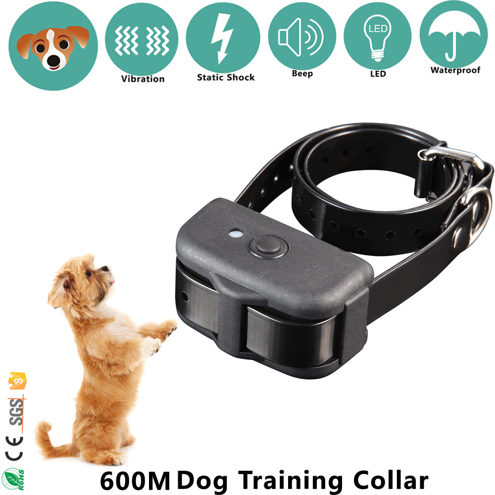 New model 600m Remote Dog training Collar with Beep, Vibra and Shock