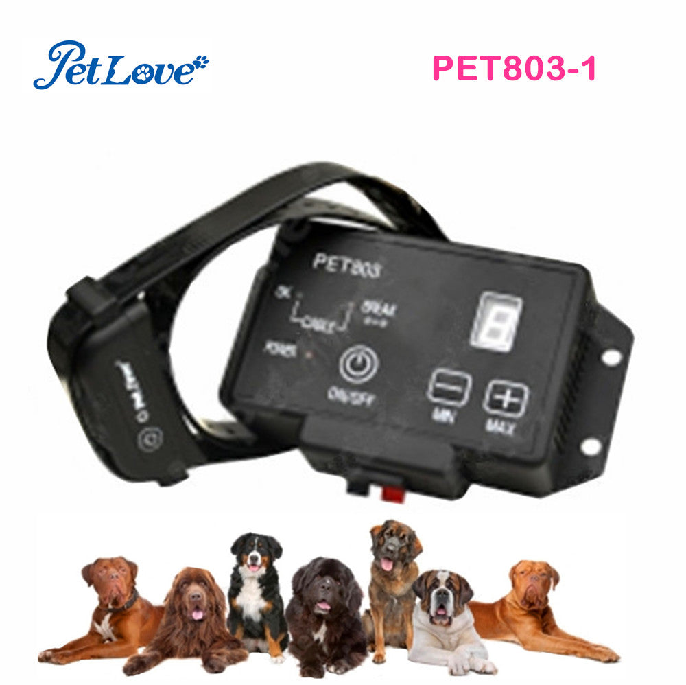 Newest Dog Training Electronic Pet Fencing System Rechargeable & Waterproof Tranining Collar 2500 Square Meters Range System