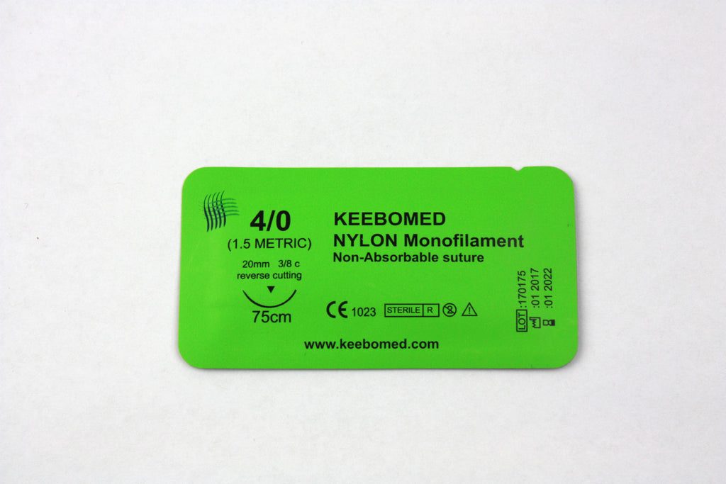 Sutures Nylon Monofilament--Keebomed