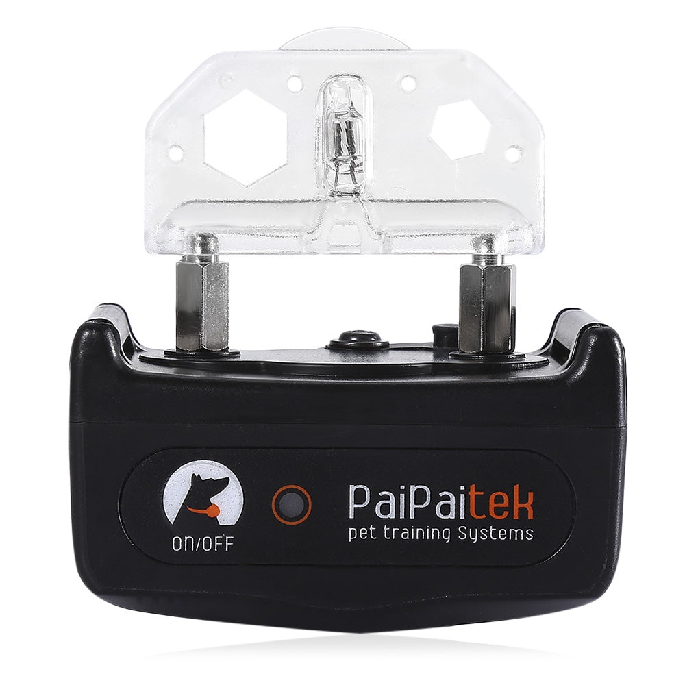 PaiPaitek PD520 Pet Dog Training Collar Waterproof  500 Yards Eelctric Shock Adjustable Levels Remote Control Anti Bark  Collar