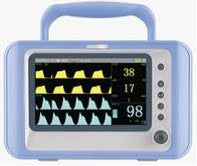 Patient Monitor KM-1000C With EtCO2 and SpO2 - VET EQUIPMENT