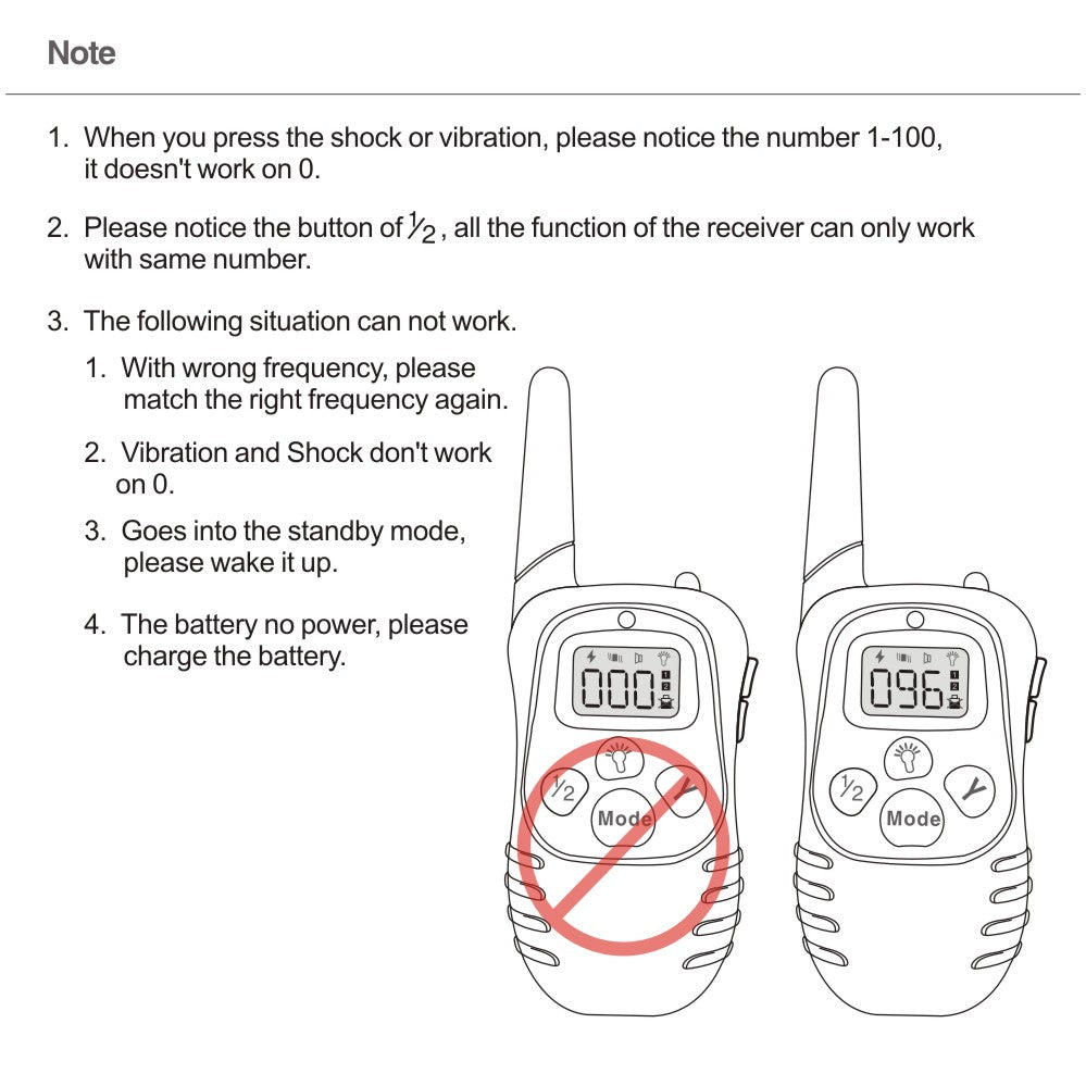 Pet Dog Training Collar Remote Control Electric Shock Collar for Dogs 300 Meters Hunting Dog Pet Training