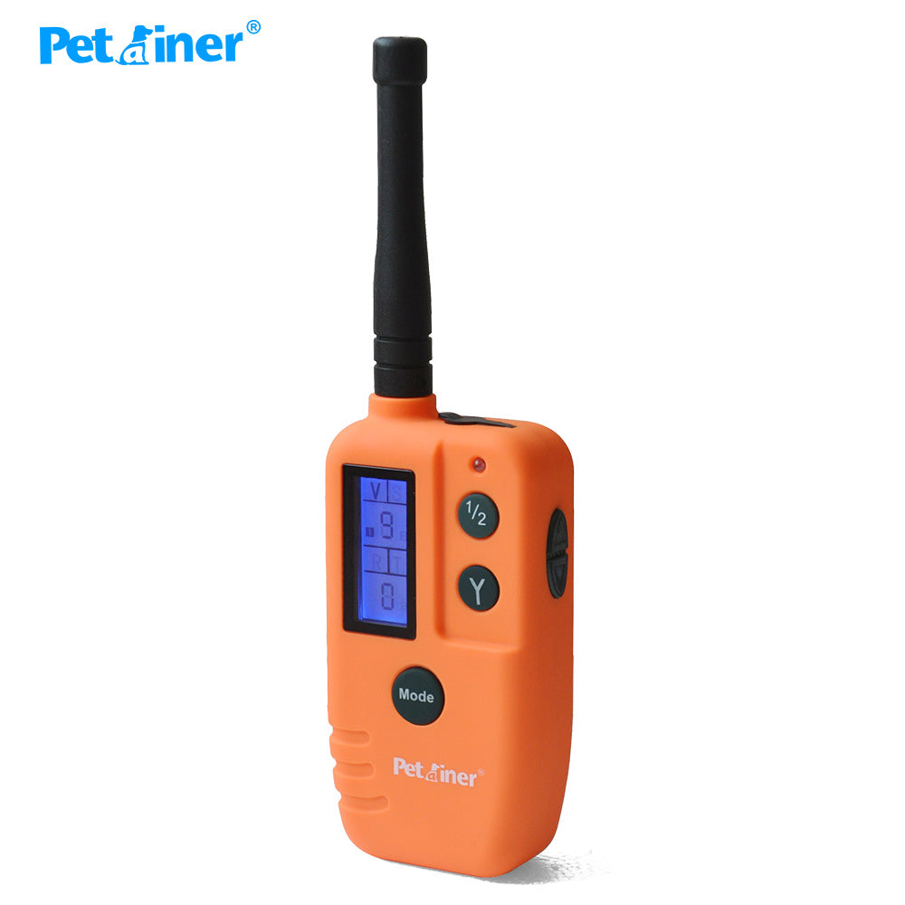 Petrainer 910B-2 Big Voice Sounds Scared Bird Dog Beeper Training Collar For 2 Dogs