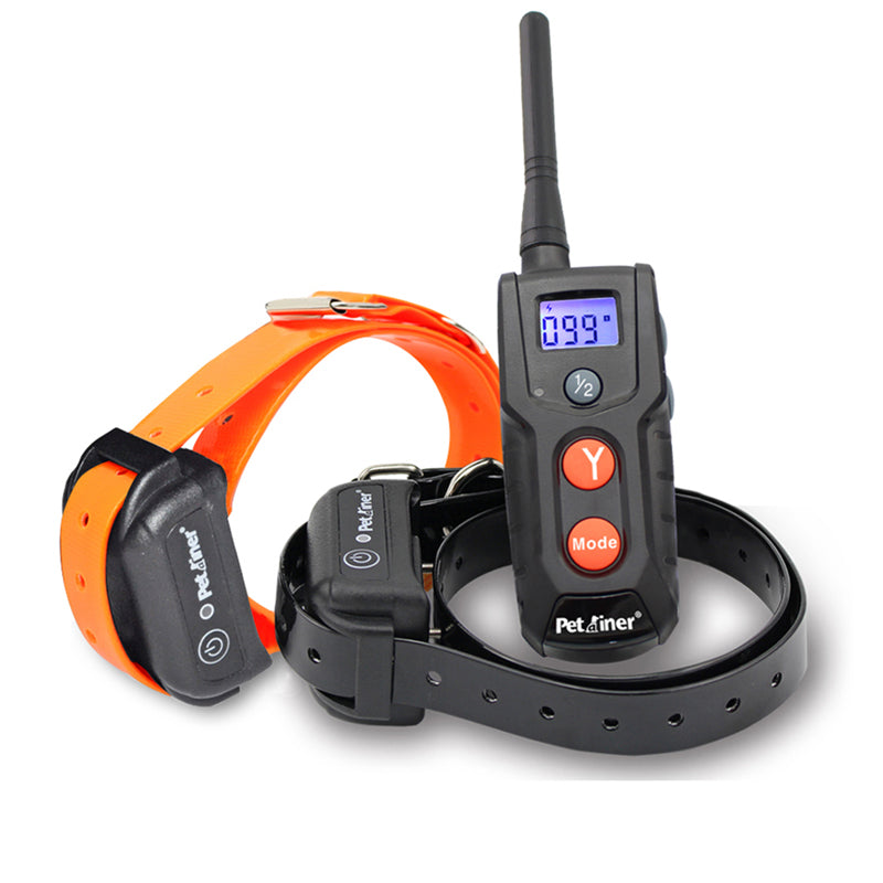 Petrainer PET916 Dog Training Collar 100% Waterproof Rechargeable Pet E-collar With Beep Vibrating Electric Shock Collar for All