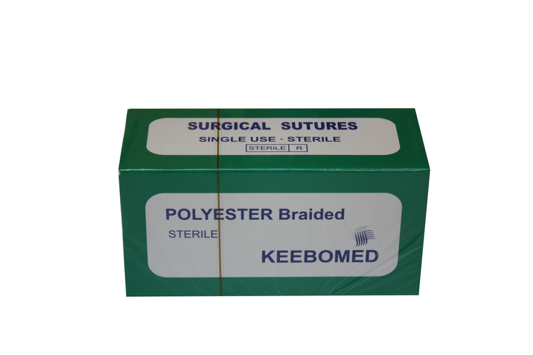 Sutures Polyester Braided